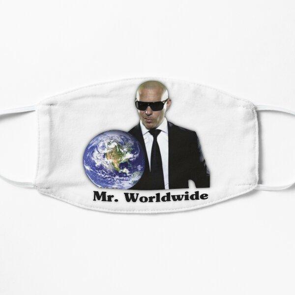Mr. worldwide Flat Mask