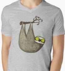 Hypno Sloth Men's V-Neck T-Shirt