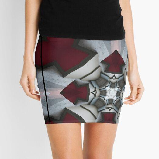 Geometric XXVI Mini Skirt