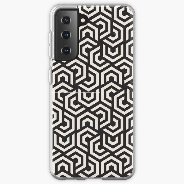 Nahtloses Design mit geometrischem Muster Samsung Galaxy Flexible Hülle