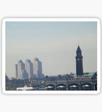 Hoboken Terminal, Jersey City, New Jersey Sticker