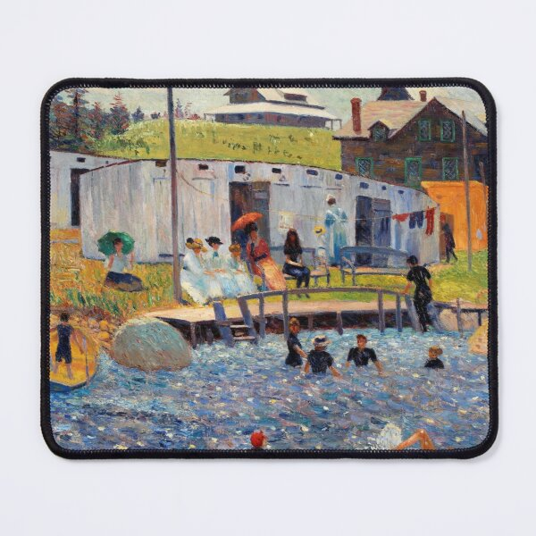 The Bathing Hour Mouse Pad