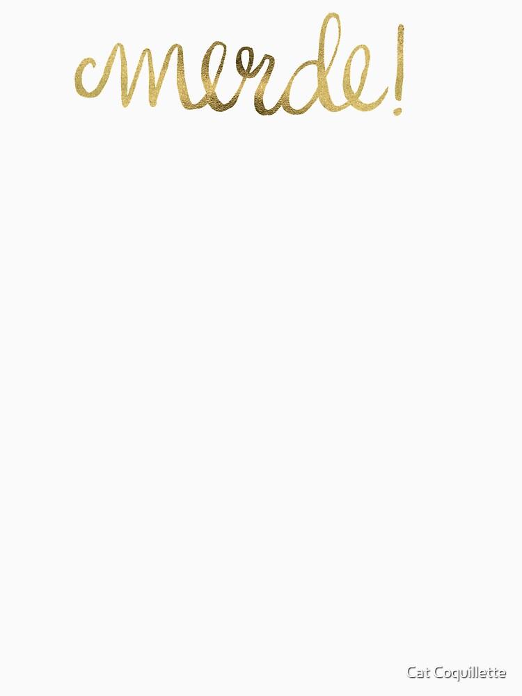 Entschuldigung mein Französisch - Gold Ink von catcoq