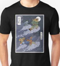 woodblock starfox Unisex T-Shirt