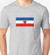 Flag of Socialist Federal Republic of Yugoslavia T-Shirt