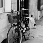 Parisian pedal power - France by Norman Repacholi