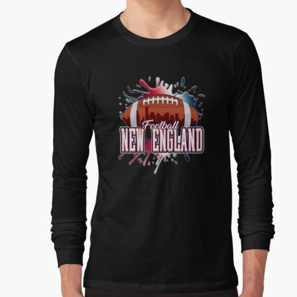 New England Football Shirt   Retro Vintage Boston Patriot Premium   Long Sleeve T-Shirt