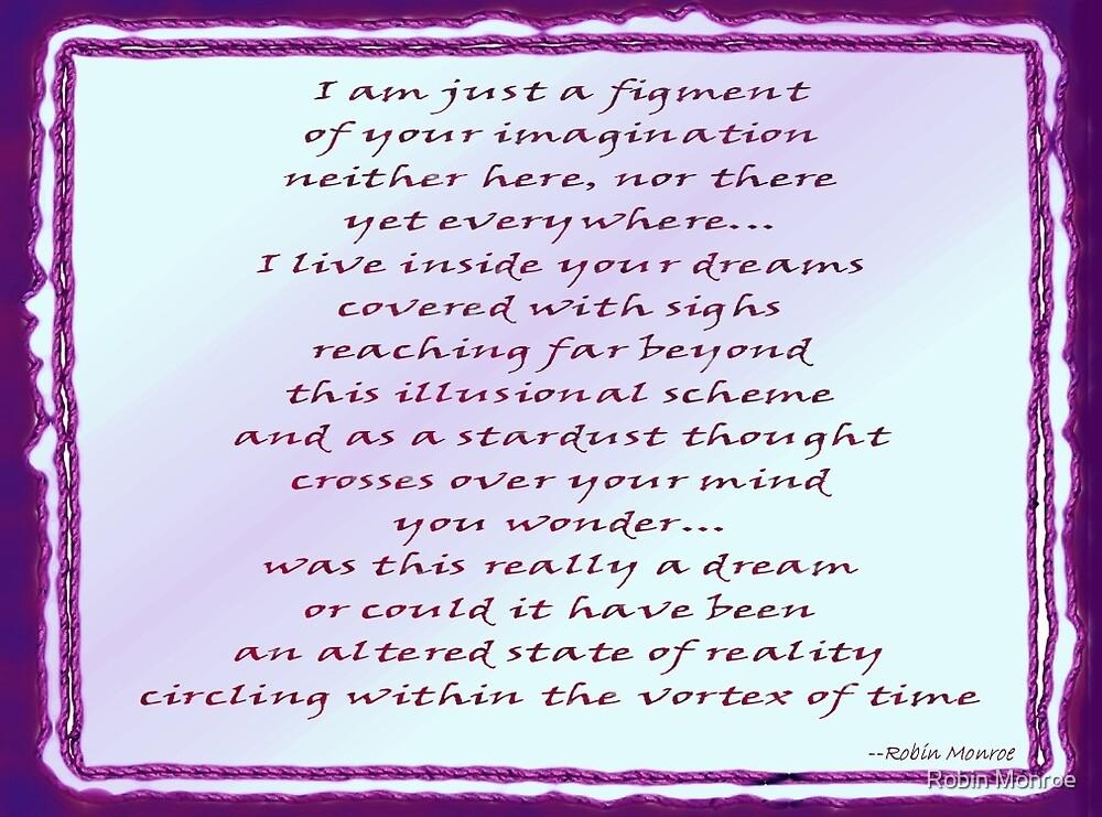 Inside a Dream - Word Art by Robin Monroe