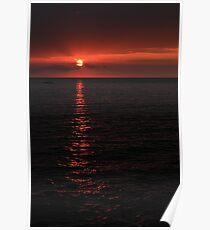 Kona Sunset Poster