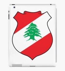 Coat of arms of Lebanon iPad Case/Skin
