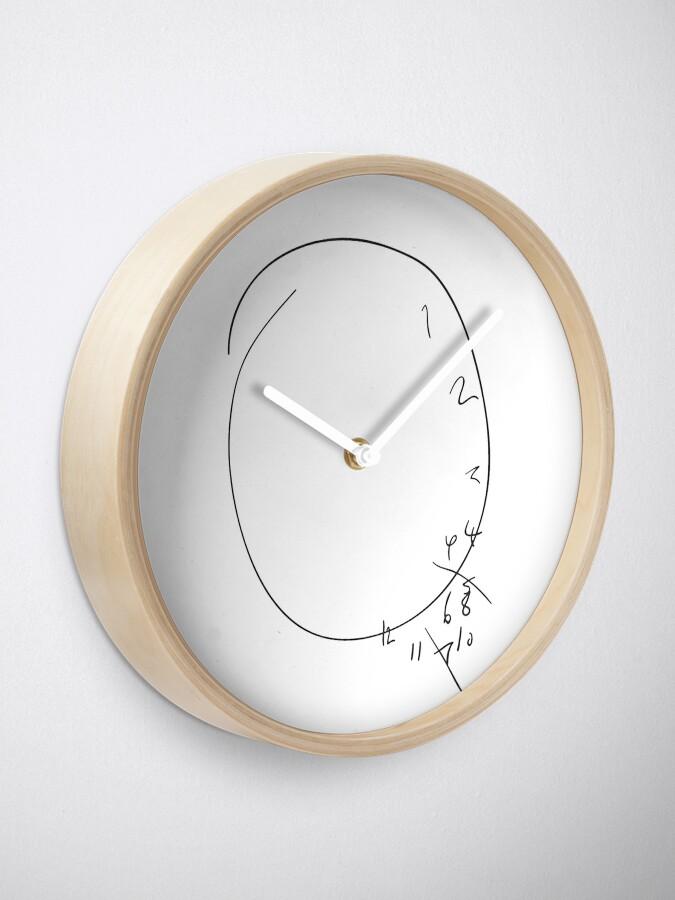 Alternate view of Will's Clock Clock