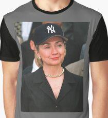Hillary Clinton Yankees Hat / Rihanna T-Shirt Graphic T-Shirt