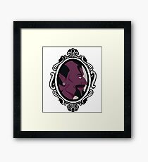 Dominion, Eldest Silver Child Cameo  Framed Print