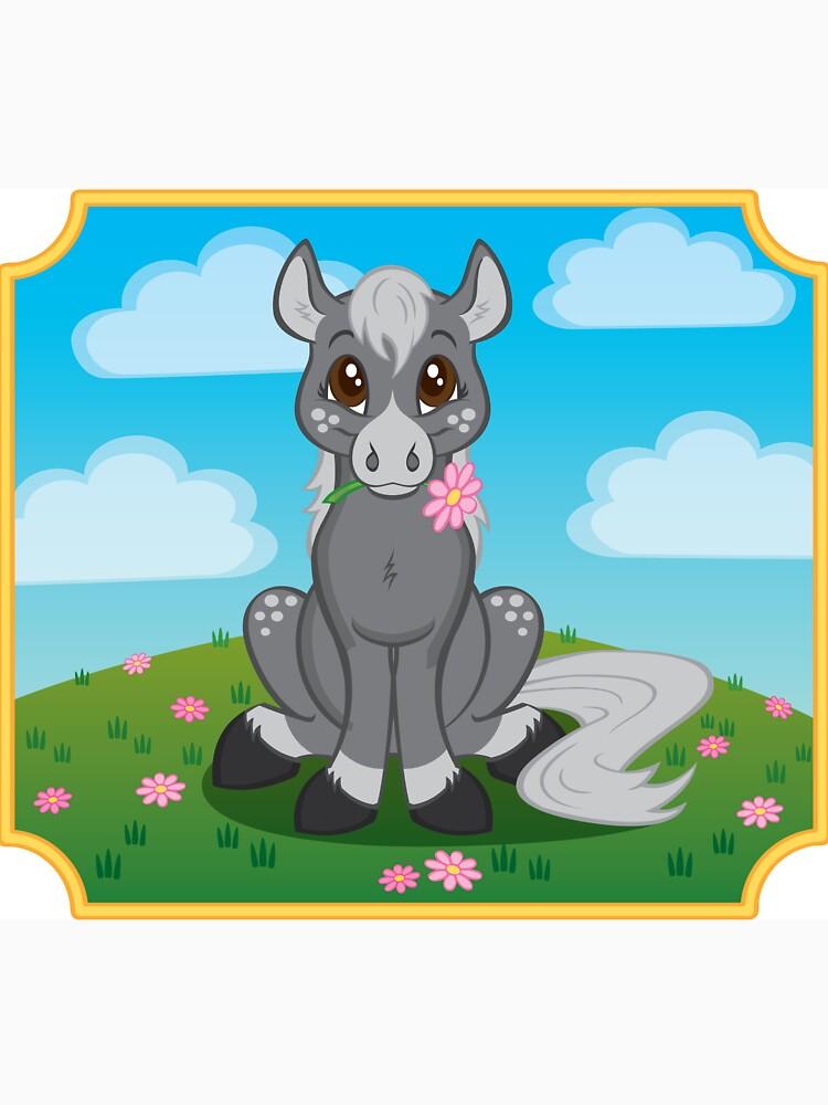 Flower Pony by CGafford