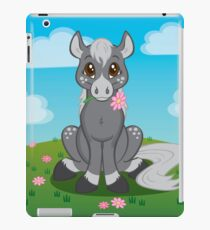 Flower Pony iPad Case/Skin