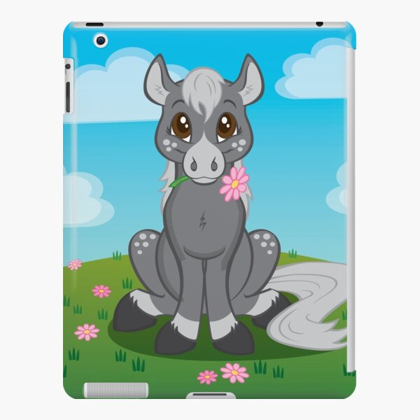 Flower Pony iPad Snap Case