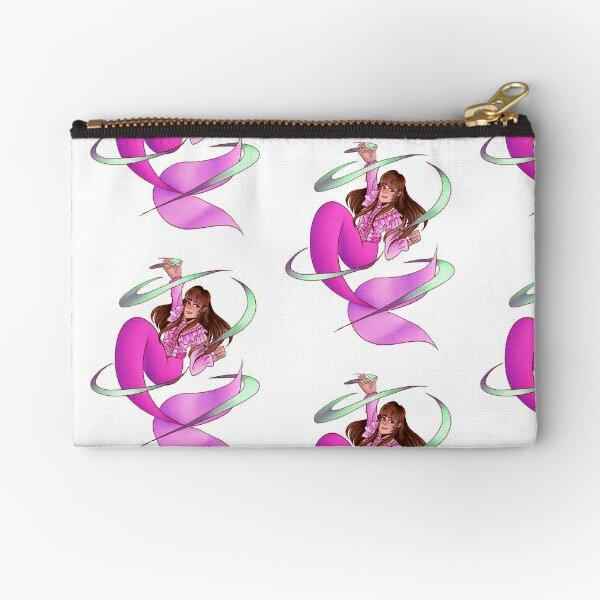 Pink mermaid  Zipper Pouch