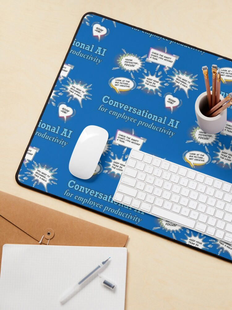 Alternate view of Conversational AI. Mouse Pad