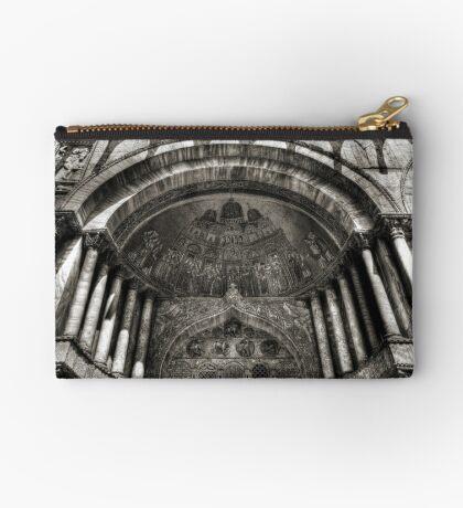 Threshold - St Mark's Basilica, Venice Studio Pouch