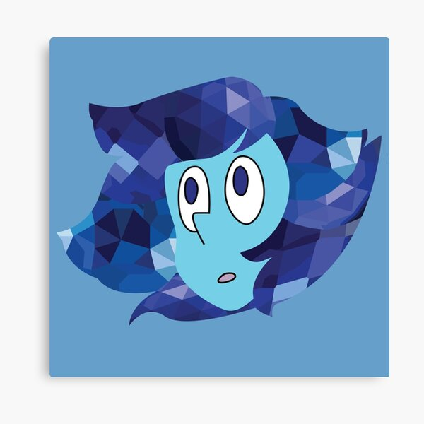 Crystallized Lapis Lazuli Canvas Print