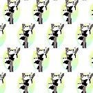 Pandas in a tree (Pattern) by Adamzworld