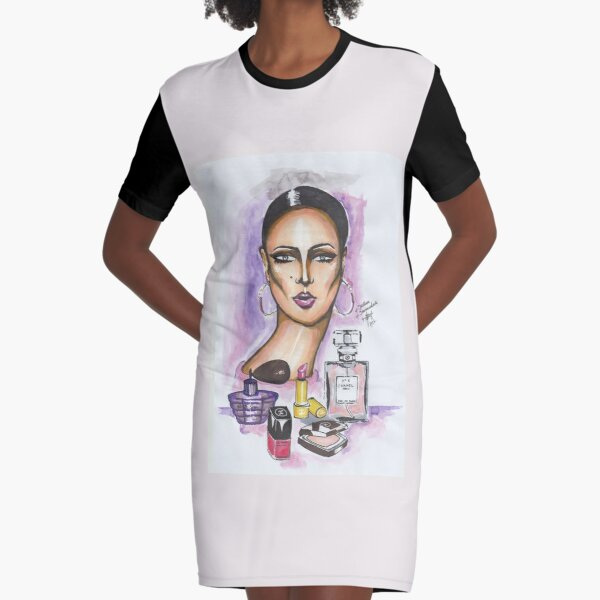 Love Coco Chanel Graphic T-Shirt Dress