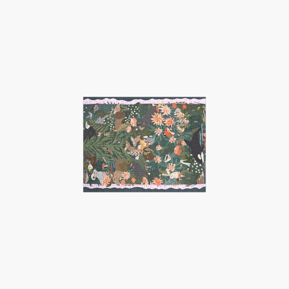 Flora & Fauna of Washington Jigsaw Puzzle