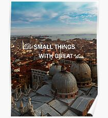 Venice with great love Poster