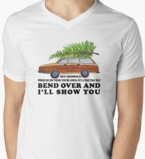 Bend over and I'll show you Men's V-Neck T-Shirt