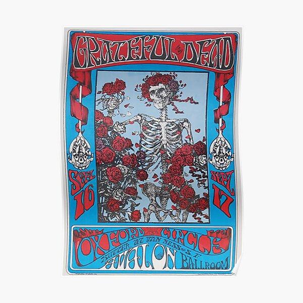 TENGKORAK MATI 1966 San Francisco Poster