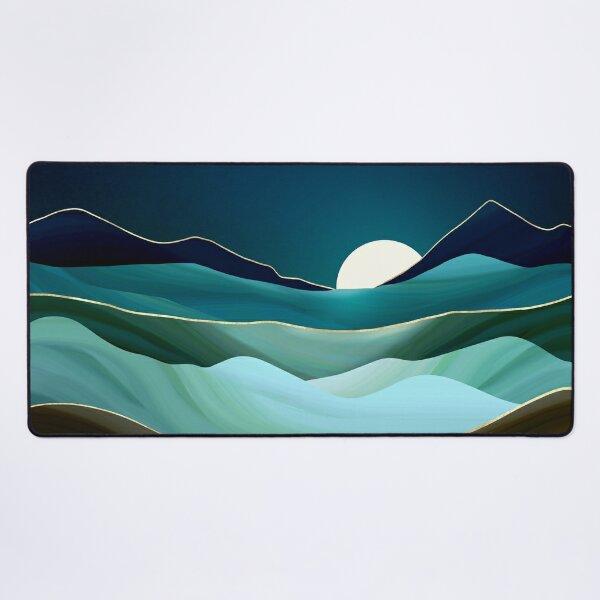 Moonlit Vista Desk Mat
