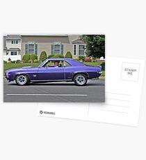 Purple Mustang Postcards