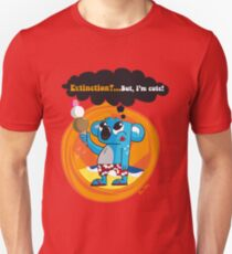 Extinction?...But, I'm cute! Slim Fit T-Shirt