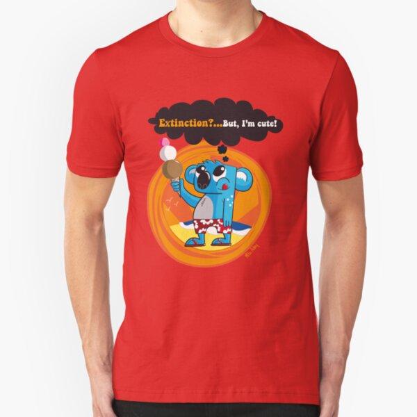 Extinction?...But, I'm cute! Slim Fit T-Shirt