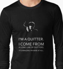 Black Books - Bernard Black - Dylan Moran Long Sleeve T-Shirt