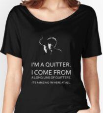 Black Books - Bernard Black - Dylan Moran Women's Relaxed Fit T-Shirt