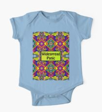 WP - Widespread Panic - Psychedelic Pattern 1  One Piece - Short Sleeve