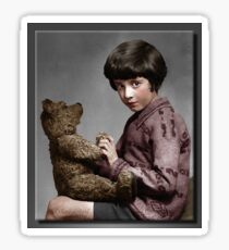 Christopher Robin and Pooh Sticker