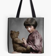 Christopher Robin and Pooh Tote Bag
