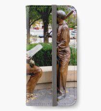 Sculpture Plaza iPhone Wallet