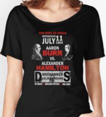 Hamilton Vs Burr Women's Relaxed Fit T-Shirt
