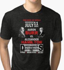 Hamilton Vs Burr Tri-blend T-Shirt
