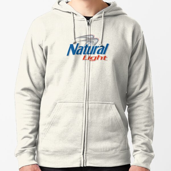 NATURAL LIGHT Zipped Hoodie
