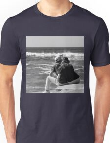 Watching The Surf Roll In Unisex T-Shirt