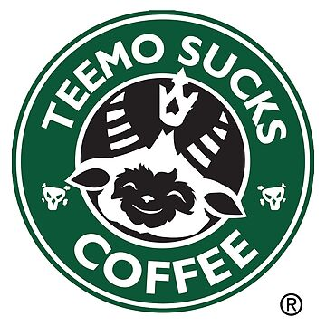 League of Legends - Teemo sucks coffee by jaydan80