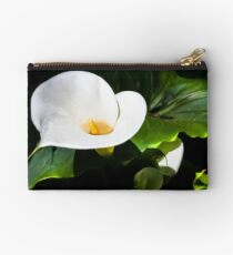 One Cala Lily Studio Pouch