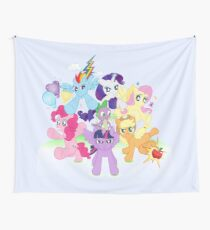 MLP - Mane 6 Wall Tapestry