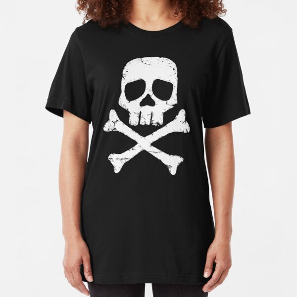 Captain Harlock's Jolly Roger Slim Fit T-Shirt