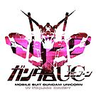 Gundam Unicorn Logo Art by blastfaizu2