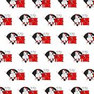 It's Game Time - Baseball (Red) (Pattern) by Adamzworld